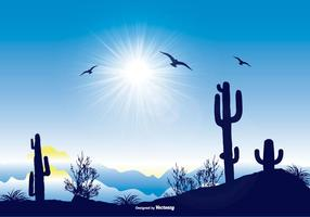 Beautiful Landscape Scene vector