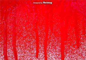 Vector Red Spray Paint Drips Hintergrund