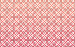Elegant Pink Vector Pattern