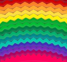 Fondo abstracto del vector del arco iris