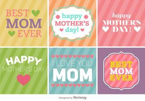 Happy Mother's Day Banner / Hintergründe vektor