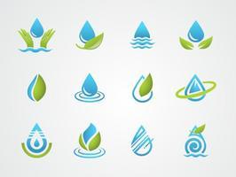 Kostenlos Agua Vector