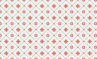 Tile Floral Pattern vector
