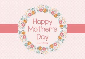 Ilustração feliz do dia das mães