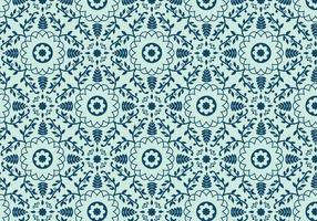 Patrón de mosaico floral