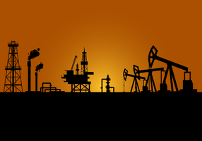 Free Oil Field Vector