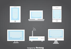 Ereader Collection Set vector