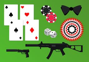 Casino Spy Elements Vector