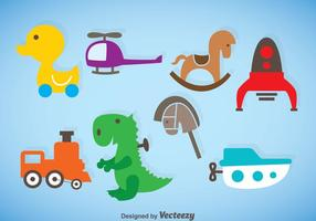 Kids Stuff Vector Set