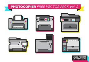 Pacchetto di vettore gratuito fotocopiatrice