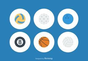 Bolas libres del deporte del vector