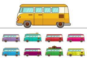 VW libre campista vectores