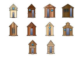 Wooden Shack Vector