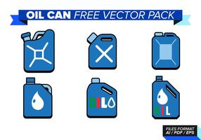 Oil Can Free Vector Pack