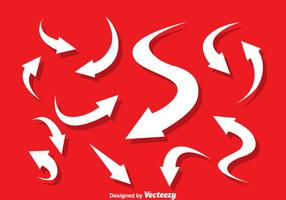 Flechas arrow vector set