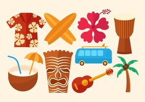 Gratis Hawaii Vector ikoner