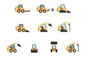Free Skid Steer Vectors