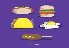 Fastfood vectoren