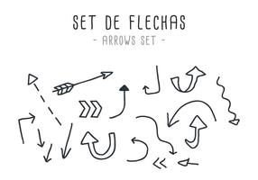 Vektor Set de Flechas