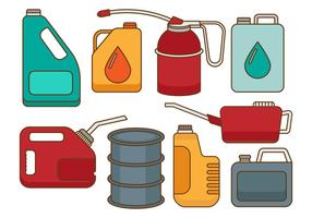 Free Oil Can Vectors