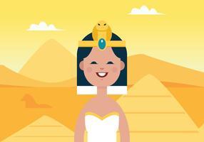 Vetor cleopatra