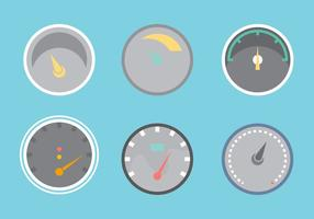 Free Tachometer Vector Graphic 2