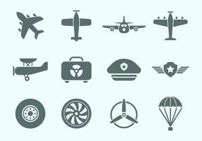 Kostenlose Aviation Icons