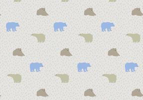 Bear Pattern Free Vector Art 15937 Free Downloads