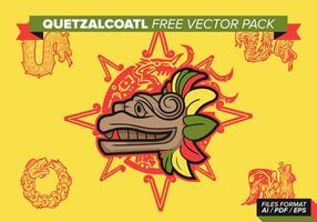 Pacote de vetores grátis quetzalcoatl