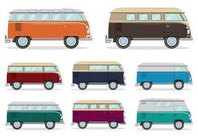 Vecteur volkswagen camper bus