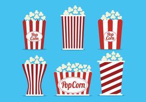 Popcorn box vektor