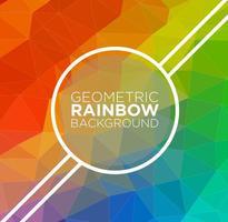 Fundo abstrato do vetor do arco-íris