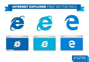 Internet Explorer Free Vector Pack