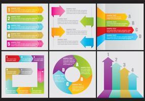 Vector flechas pijl infographics