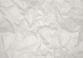 Wrinkled Vector Papier Hintergrund