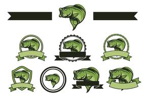 Free Bass Fish Vector