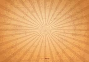 Sunburst Vector Grunge Bakgrund