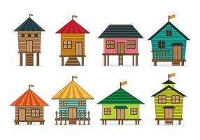 Set van Shack Vector
