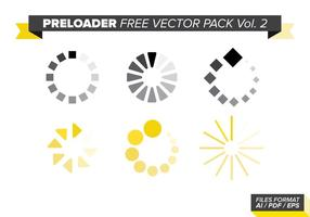 Preloader Gratis Vector Pack Vol. 2