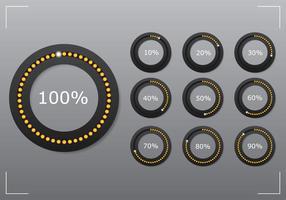 Conjunto de pré-carregador de círculo