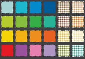Fabric Swatches vector