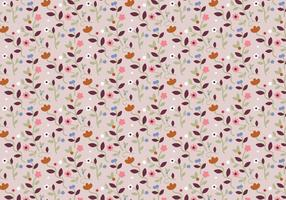 Pastel Floral Pattern  vector