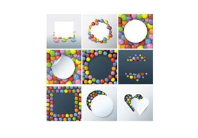 Free Smarties Background Vectors