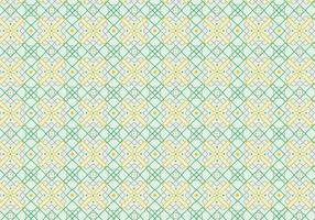 Outlined Decorative Pattern Background vector