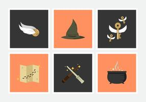 Hogwarts Libre Vector Pack Vol. 2