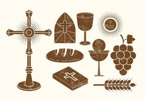 Vecteurs Eucharisiens gratuits