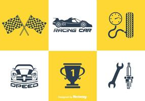 Free Pit Stop Vector Icons