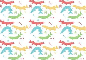 Pike Pattern Vector