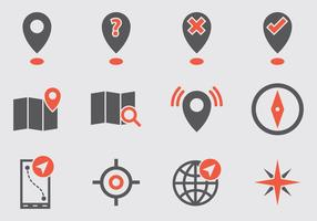 Map Legend Vector Icons