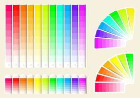 Gratis Color Swatches Vector